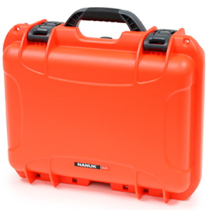 Nanuk 920 Case orange mit Schaumstoff