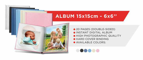 Mitsubishi Photo Book Cover 15x15 Pink